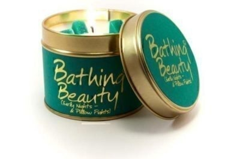 Bathing Beauty Scented Candle By Lily Flame: Booker Gifts
