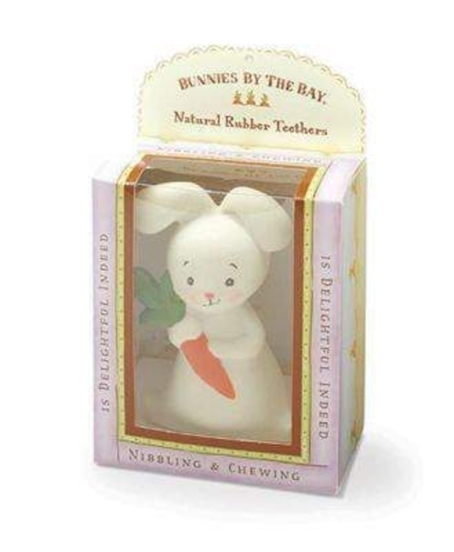 Bud Bunny Rabbit Teether by Deva Designs: Booker Gifts