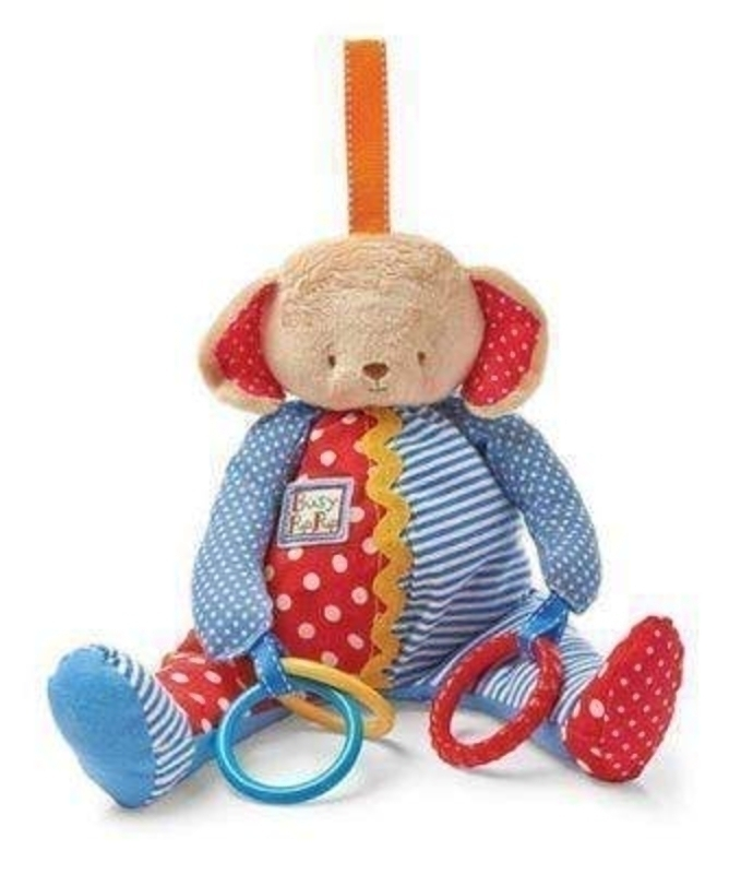 Busy Pup Dog Baby Toy by Deva Designs: Booker Gifts