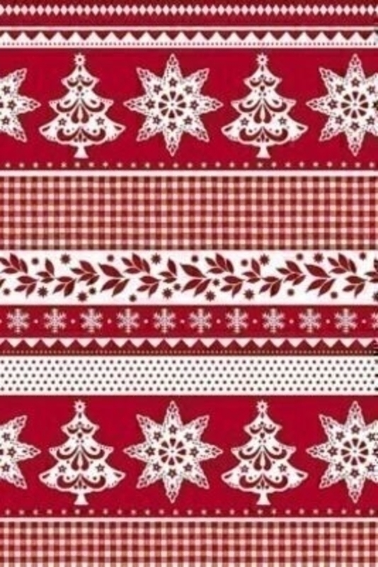 Christmas Wrapping Roll Red Flemming by Stewo: Booker Gifts
