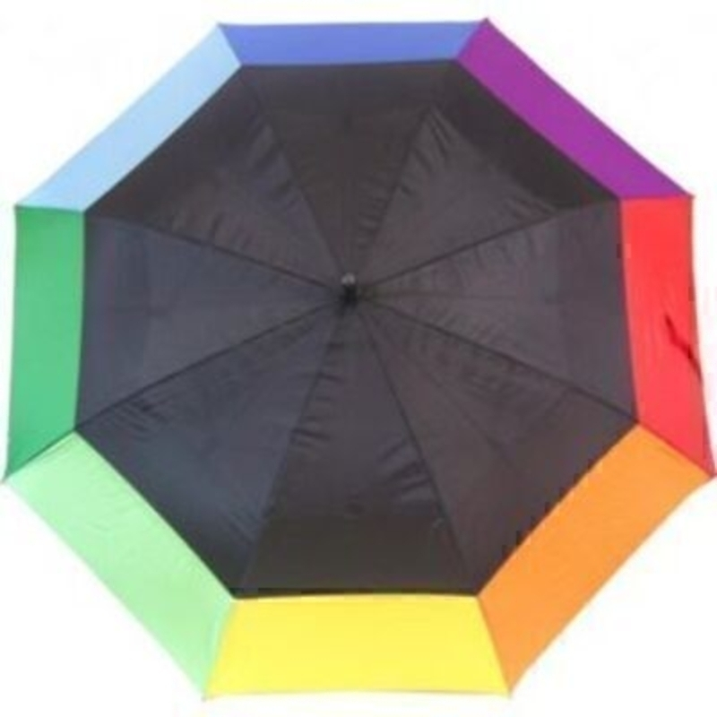 Everyday Giant Rainbow Golf Stick Umbrella By Blooming: Booker Gifts