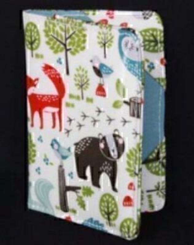 Forest Friends Pvc Passport Cover By Gisela Graham: Booker Gifts