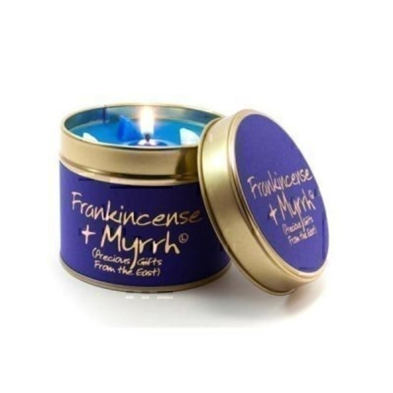 Frankincense and Myrrh Scented Candle by Lily Flame: Booker Gifts