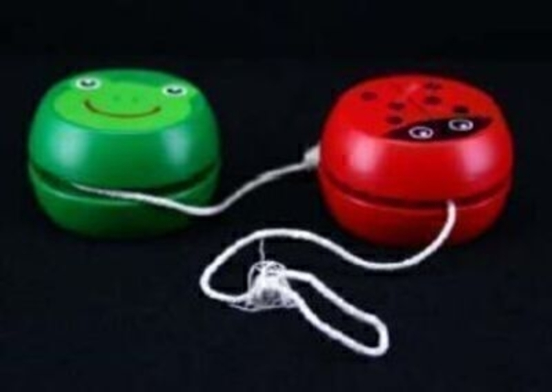 Frog Or Ladybird Yo Yos By Gisela Graham: Booker Gifts