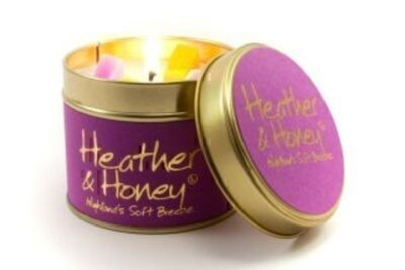 Heather And Honey Scented Candle By Lily Flame: Booker Gifts