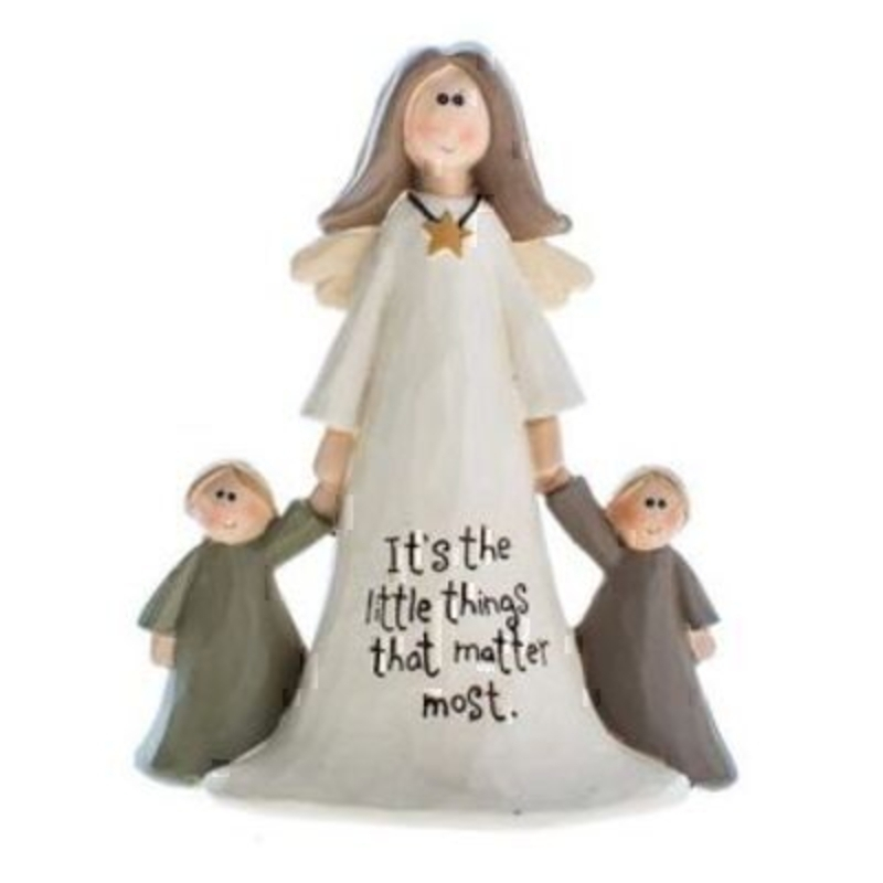 Its the Little Things That Matter Most Angel Ornament by Heaven Sends: Booker Gifts