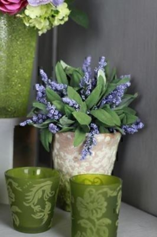 Lavender In Terracotta Rustic Pot By Bloomsbury: Booker Gifts