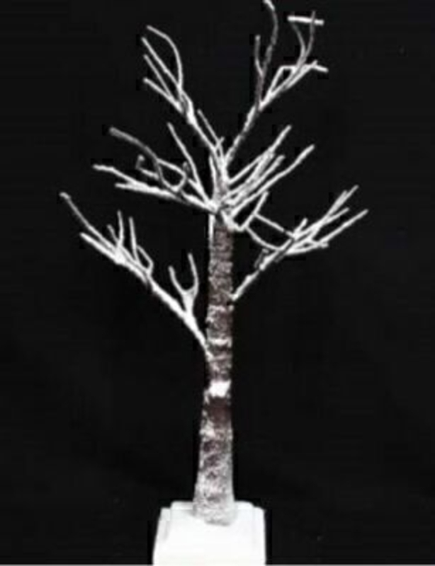 Snow Covered Spiky Twig Christmas Tree By Gisela Graham - Small: Booker Gifts
