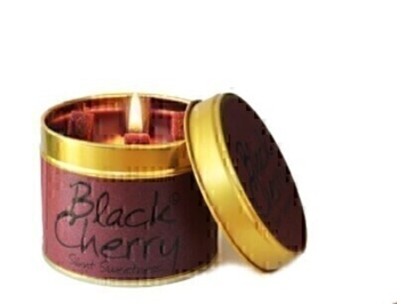 Black Cherry Scented Candle By Lily Flame