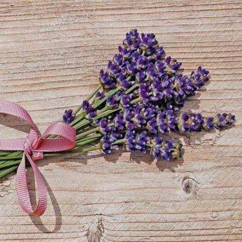 Bunch Of Lavender Lavendel Napkins By Stewo