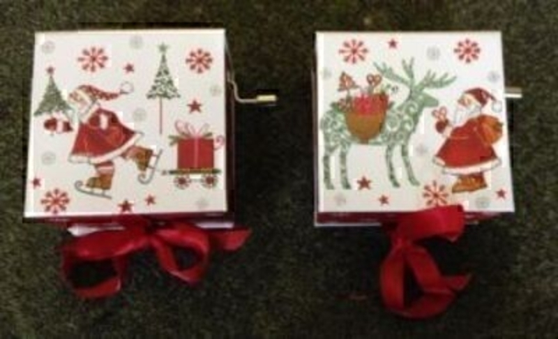 Father Christmas Music Box Gift Box By Stewo