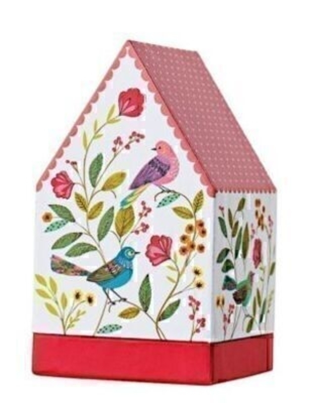 Gift Card Gift Box Inessa Birds By Stewo