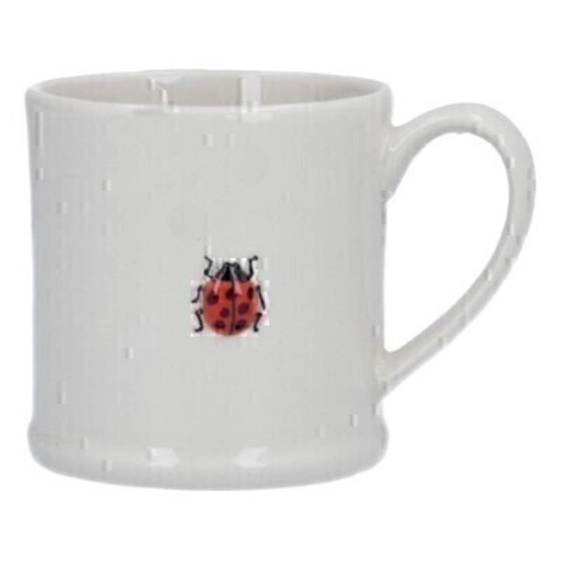 Ladybird Ceramic Small Mug By Gisela Graham
