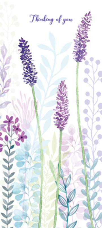 Lavender Thinking Of You Card by Paper Rose
