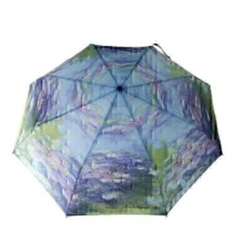 Monet Water Lillies Umbrella - Folding