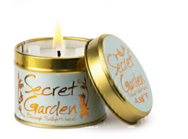 Secret Garden Scented Candle By Lily Flame