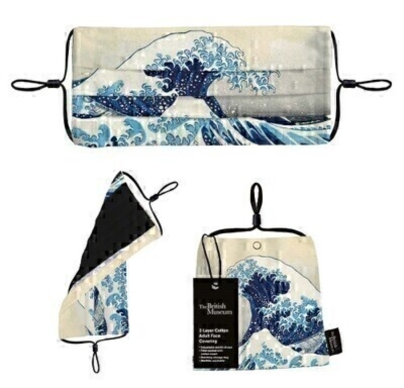 The Great Wave Adult Cotton Reusable Face Mask