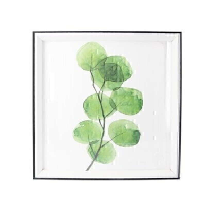 Watercolour Framed Square Print By Gisela Graham